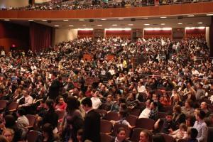 Full house!