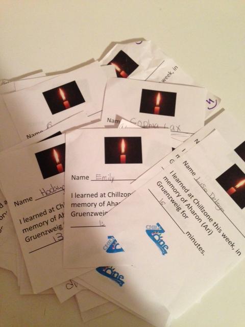 Staten Island ChillZone girls' memorial cards